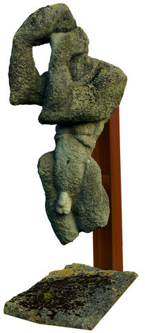 Statue-stiftruine-artflake