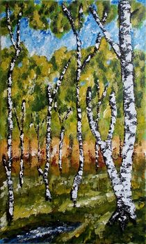 Summer Forest von Zeke Nord