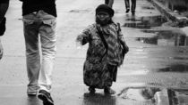 Poverty: Spend her some love & care by Aunil Halim Yunus