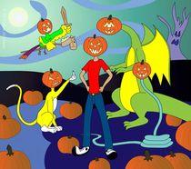 It's The Funny Pumpkinheads, Charlie Brown! by Salim Al-Mumin