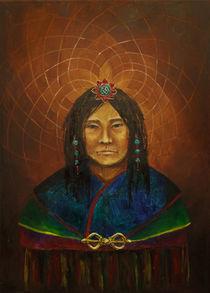 tibetan man by Yana Istoshina