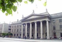 Dublin Ireland, O'Connell St & GPO von irish-prints