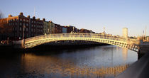 Ha'penny Bridge, Dublin Ireland by irish-prints