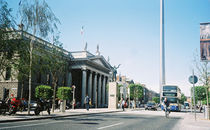 O'Connell Street Dublin GPO & Spire by irish-prints