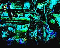 blue engine von ursfoto