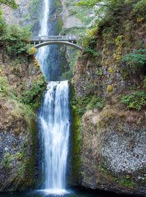 Lower Multnomah Falls by John Bailey