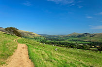 The Vale of Edale from the Pennine Way von Rod Johnson