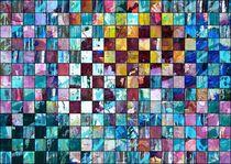 Farbanordnung im Schachbrettmuster von Martin Uda