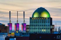 Skyline of Hannover, Germany von Michael Abid