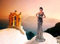 High Fashion Santorini von Milan Karadzic