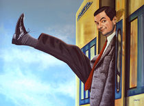 Mister Bean painting  by Paul Meijering