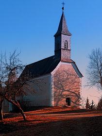 'Die Kirche von Hollerberg II | Architekturfotografie' von Patrick Jobst