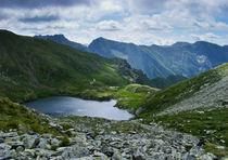 Carpathian glacier lake von Tudor Buzle