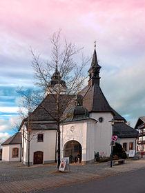 'Die Kirche von Vorderweißenbach II | Architekturfotografie' von Patrick Jobst