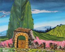 Tor in der Toskana von Rudolf Urabl
