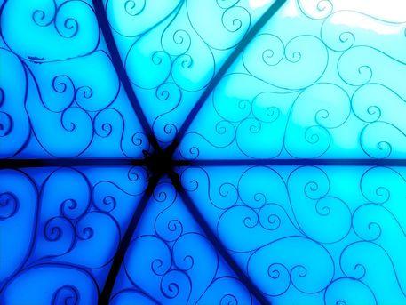 Blue-sky-gazebo