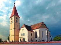 Die Kirche von Kleinzell im Mühlkreis I | Architekturfotografie von Patrick Jobst