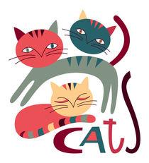 cats von Zuzana  Smolkova