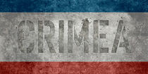National flag of Crimea with text by Bruce Stanfield