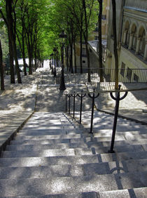 Montmartre Steps by Sally White