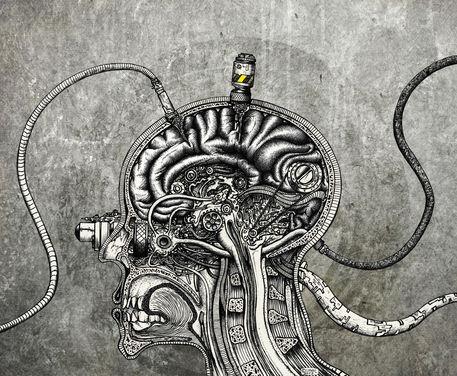 Mechanical-brain-poster