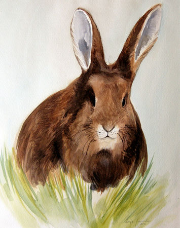 Malen-am-meer-osterhase-ostern-hase-aquarell