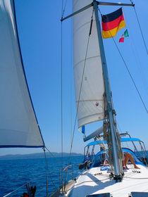 Segelboot by Andreas Jontsch