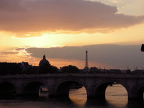 Le Pont Neuf at Sunset by Sally White