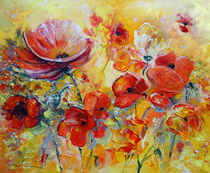 Poppies On Fire by Miki de Goodaboom