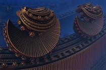 Chinatown in Robot City von Viktor Peschel