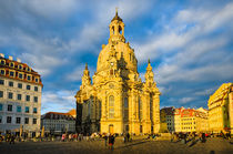 Frauenkirche in Dresden, Germany by Michael Abid