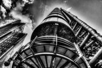 Lloyd's Of London Buildng by David Pyatt