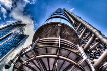 Lloyd's Of London Buildng von David Pyatt