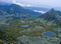 Lakes above the clouds von Tudor Buzle