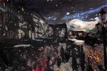 Venice Street Scene von Galen Valle
