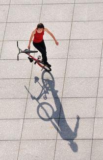BMX Flatland von oben - Monika Hinz by Matthias Hauser