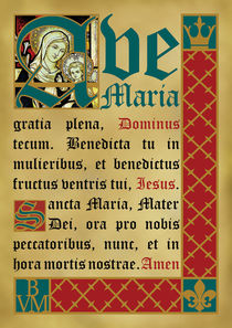 Ave Maria (II) by Alaister Lim