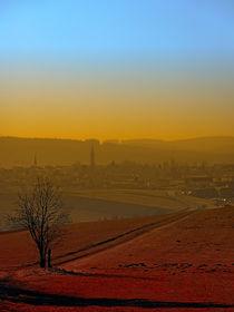 Dunst, Skyline, Sonnenuntergang | Landschaftsfotografie by Patrick Jobst