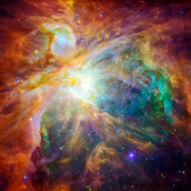 The cosmic cloud called Orion Nebula von creativemarc