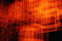 dynamic shapes of orange squares von lightart