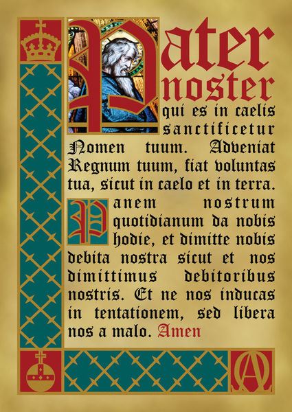 quot pater noster quot graphic illustration prints and posters by alaister lim artflakes