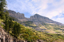 Logan Pass Vista von John Bailey