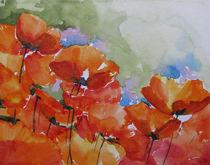 Mohnblumen von Sonja Jannichsen