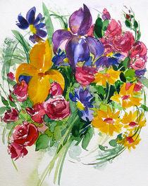 Iris Blumenstrauß von Sonja Jannichsen