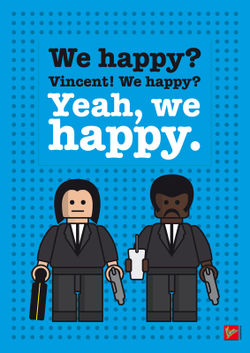 My-pulp-fiction-lego-dialogue-poster