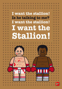 My rocky lego dialogue by chungkong