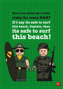 My apocalypse now lego dialogue by chungkong