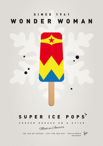 My SUPERHERO ICE POP - Wonder Woman von chungkong
