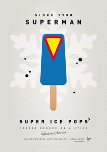 My SUPERHERO ICE POP - Superman by chungkong