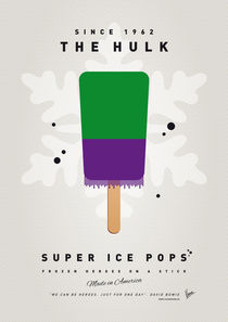 My SUPERHERO ICE POP - The Hulk by chungkong